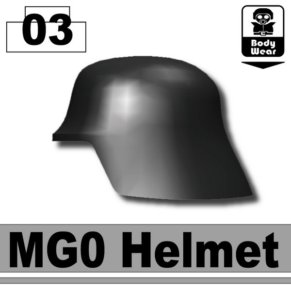 Black_MG0 Helmet