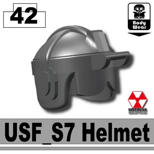 Iron Black_USF_S7 Helmet(S7)