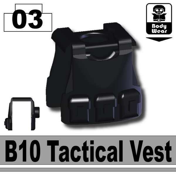 Black_B10 Tactical Vest