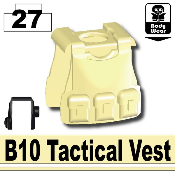Tan_B10 Tactical Vest