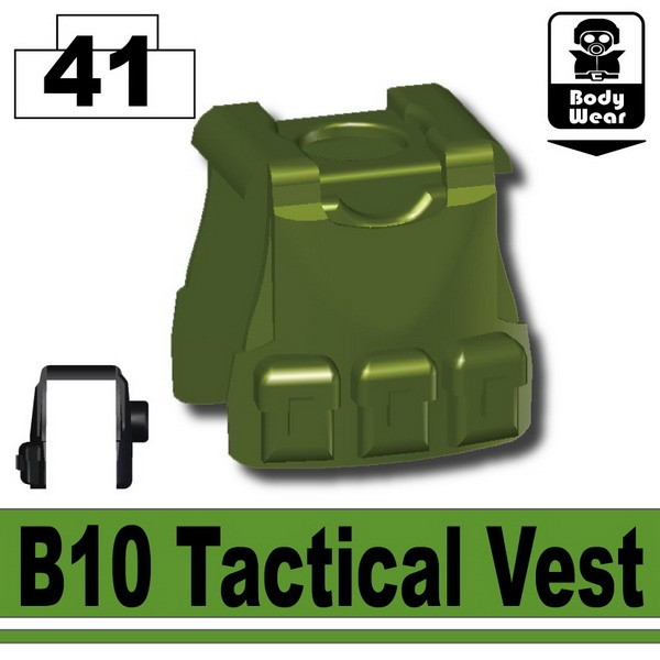 Tank Green_B10 Tactical Vest