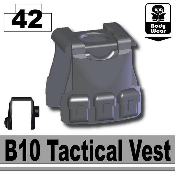 Iron Black_B10 Tactical Vest