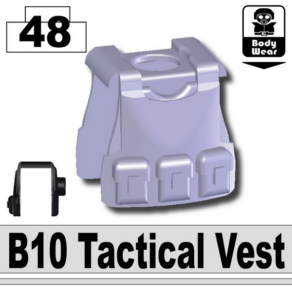 Light Silver_B10 Tactical Vest