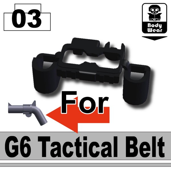 Black_G6 Tactical Belt