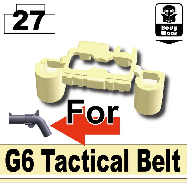 Tan_G6 Tactical Belt