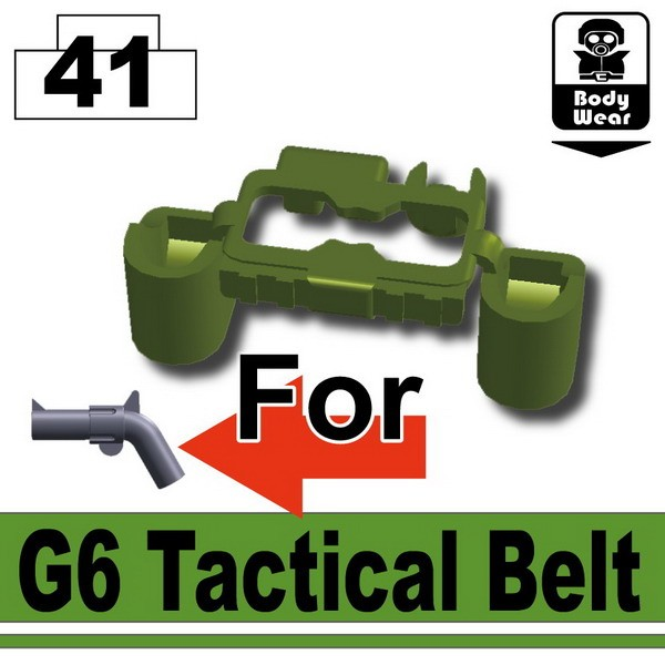 Tank Green_Tactical Belt(G6)