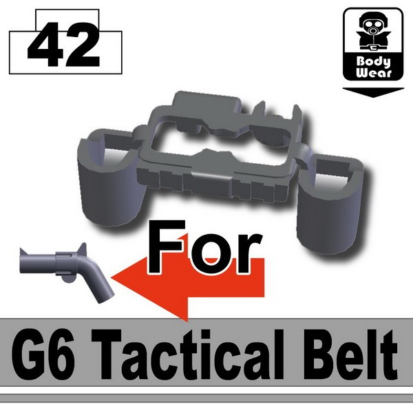 Iron Black_Tactical Belt(G6)