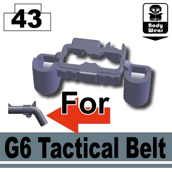 Dark Blue Gray_Tactical Belt(G6)