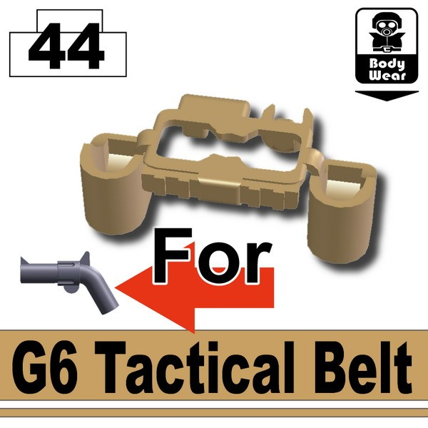 Dark Tan-2_G6 Tactical Belt