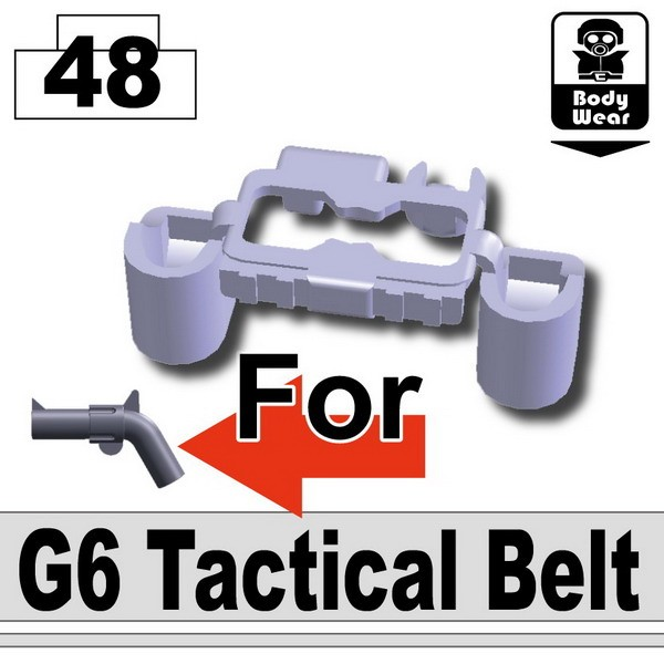 Light Silver_Tactical Belt(G6)