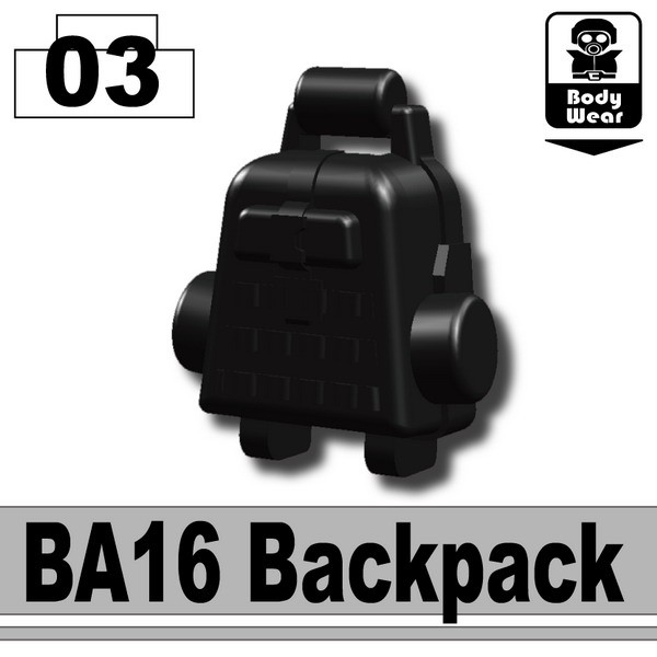 Black_BA16 Backpack