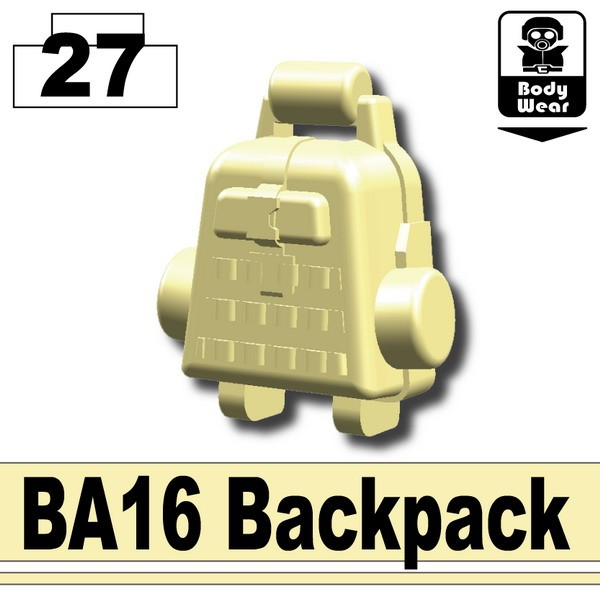 Tan_BA16 Backpack