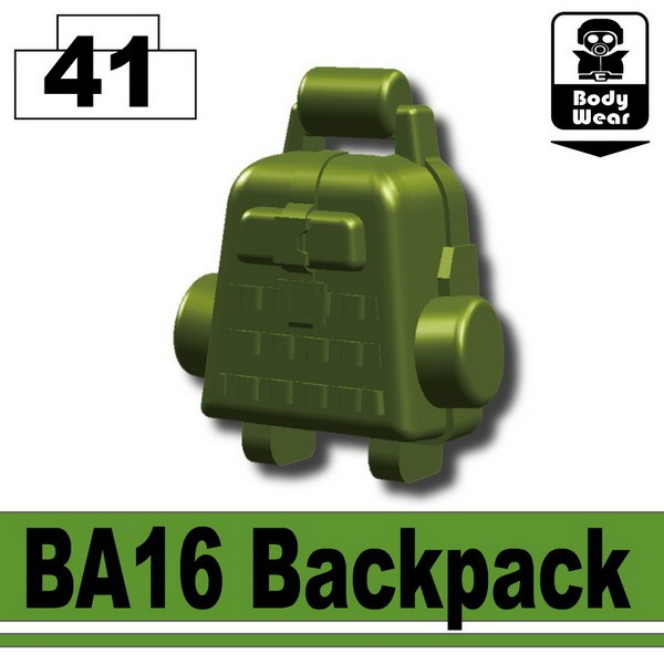 Tank Green_BA16 Backpack