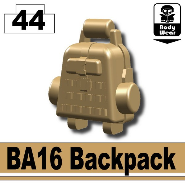 Dark Tan-2_BA16 Backpack