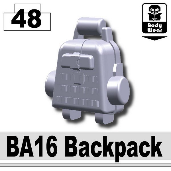 Light Silver_BA16 Backpack