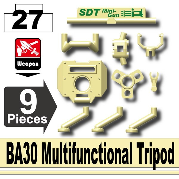 Tan_BA30 Multifunctional Tripod
