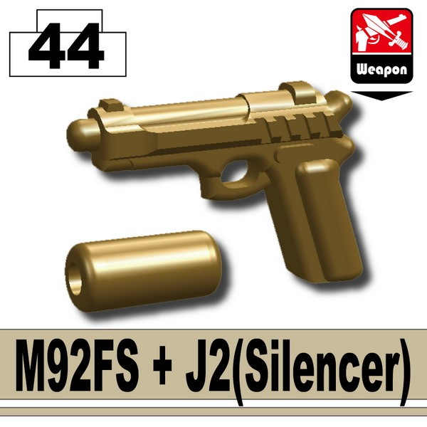 Dark Tan-2_M92FS+J2(Silencer)