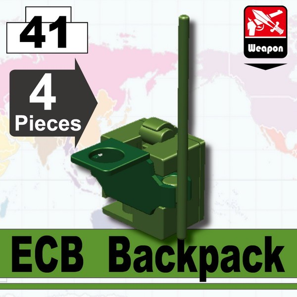 Tank Green_ECB Backpack