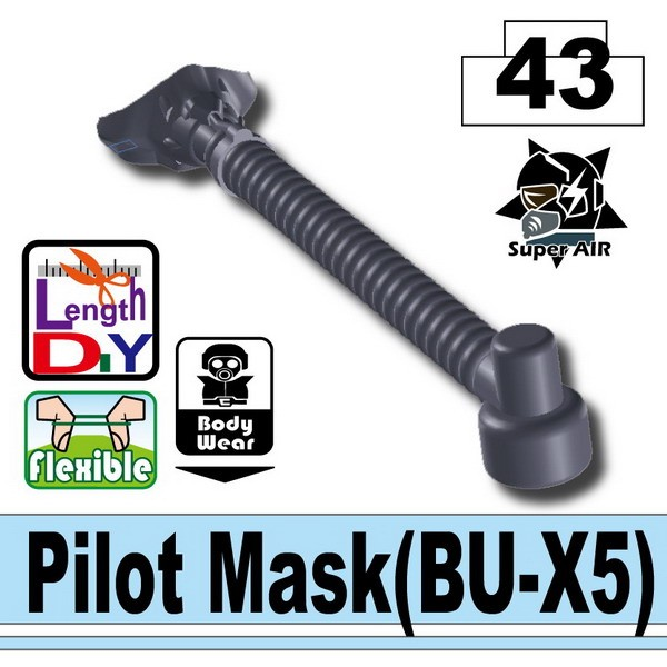 Dark Blue Gray_Pilot Mask(BU-X5)