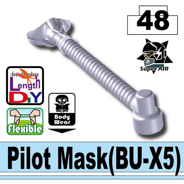 Light Silver Pilot Mask(BU-X5)