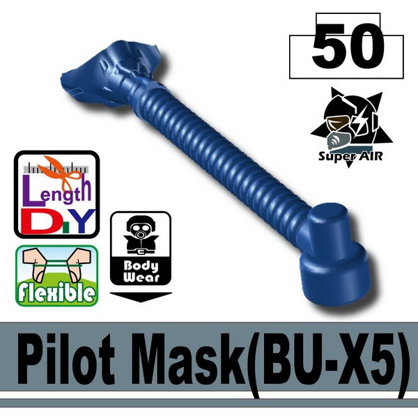 Dark Blue Pilot Mask(BU-X5)