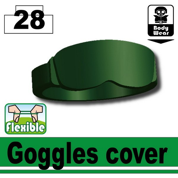 Dark Green Goggles cover