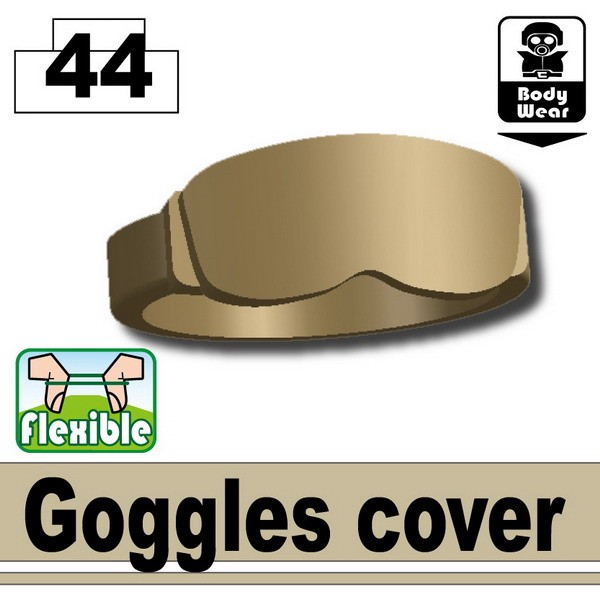 Dark Tan-2 Goggles cover