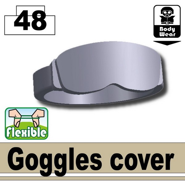Light Silver Goggles cover