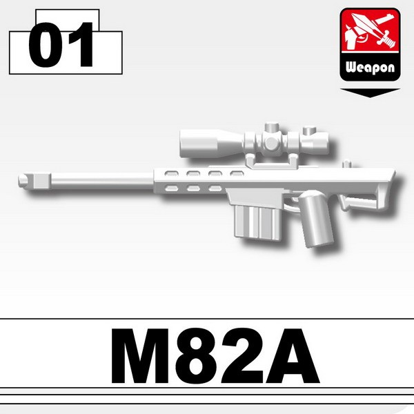 White_Sniper rifle(M82A)