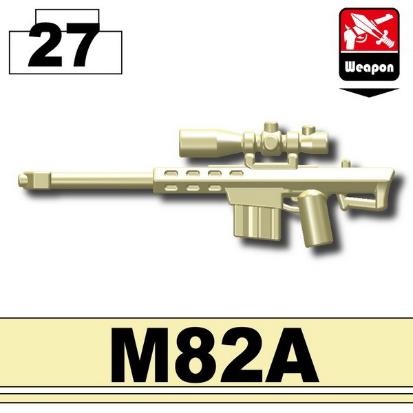 Tan_Sniper rifle(M82A)