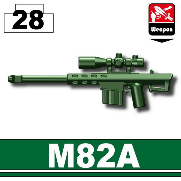 Dark Green_Sniper rifle(M82A)