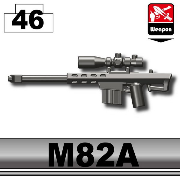Pearl Dark Black_Sniper rifle(M82A)