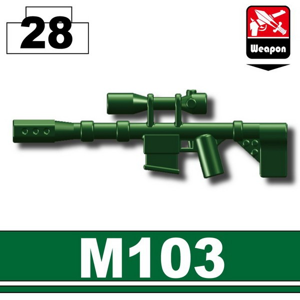 Dark Green_Sniper rifle(M103)