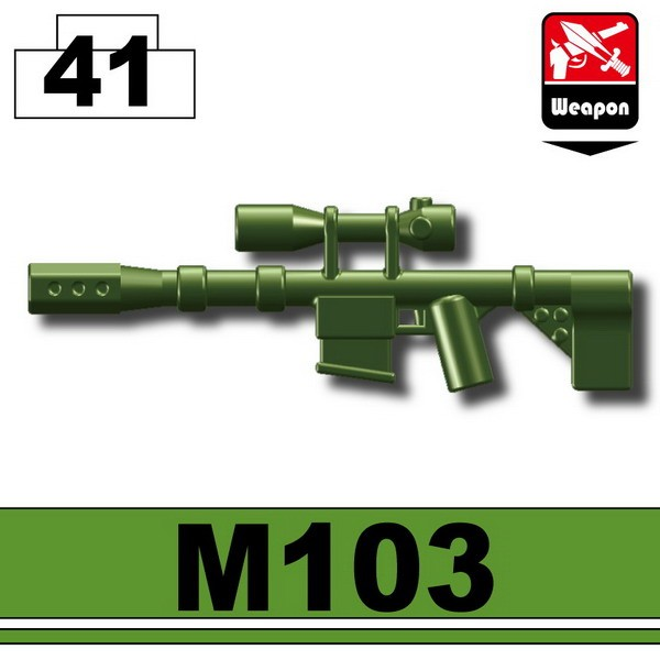 Tank Green_Sniper rifle(M103)