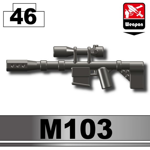 Pearl Dark Black_Sniper rifle(M103)