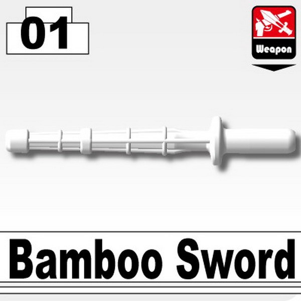 White_Bamboo Sword