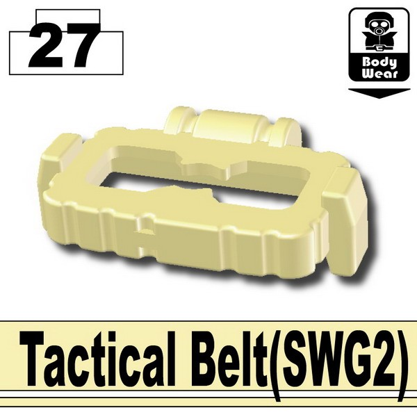 Tan_Tactical Belt(SWG2)