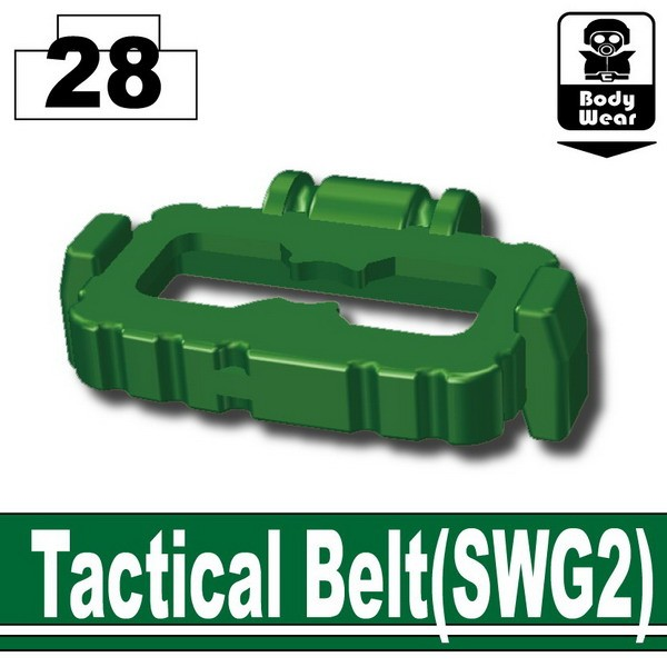 Dark Green_Tactical Belt(SWG2)
