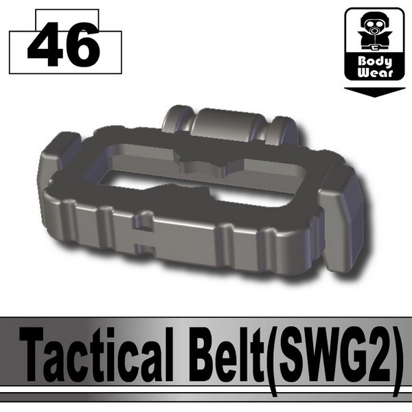 Pearl Dark Black_Tactical Belt(SWG2)