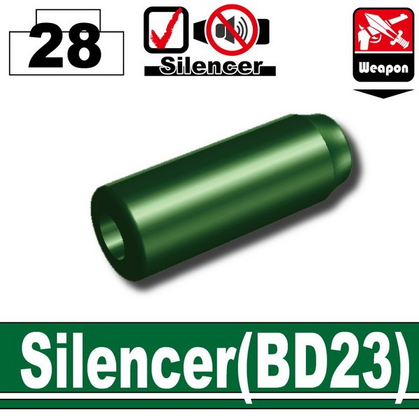 Dark Green_Silencer(BD23)