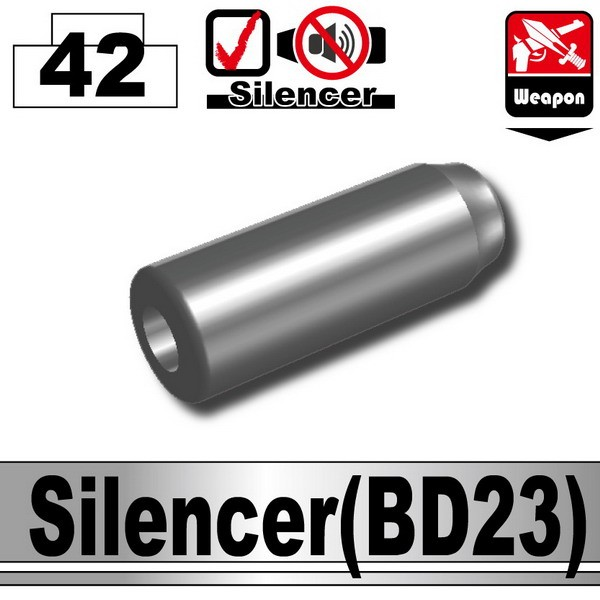 Iron Black_Silencer(BD23)