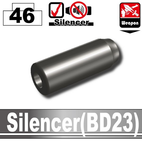 Pearl Dark Black_Silencer(BD23)