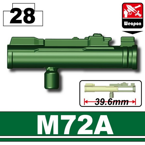 Dark Green_M72A Launcher