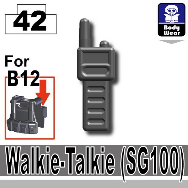 Iron Black_Walkie-Talkie (SG100)