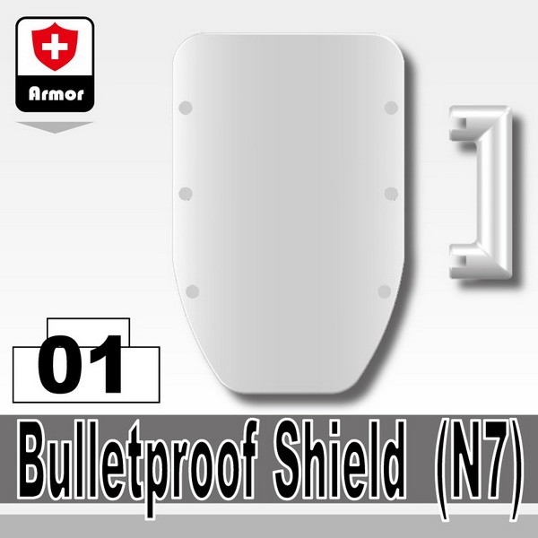 White_Bulletproof Shield(N7)