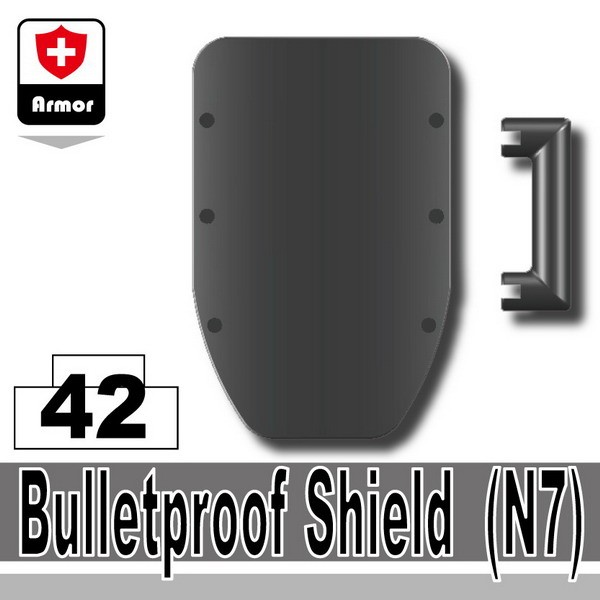 Iron Black_Bulletproof Shield(N7)