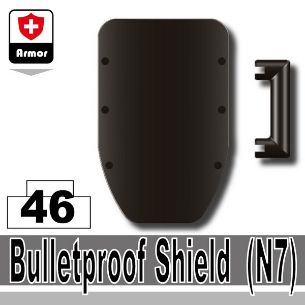 Pearl Dark Black_Bulletproof Shield(N7)