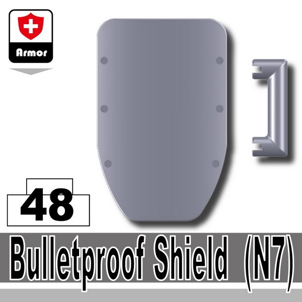 Light Silver_Bulletproof Shield(N7)