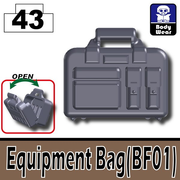 Dark Blue Gray_Equipment Bag(BF01)
