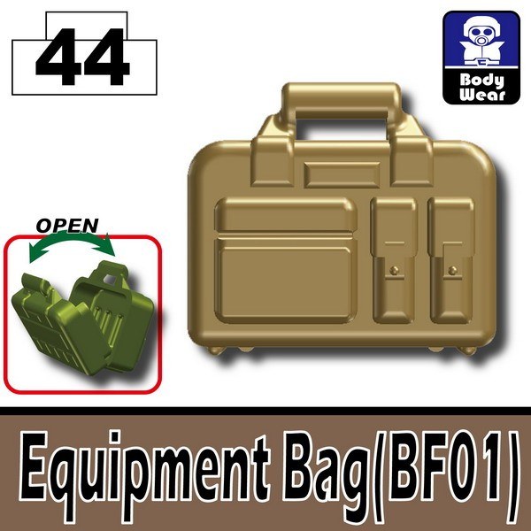 Dark Tan-2_Equipment Bag(BF01)